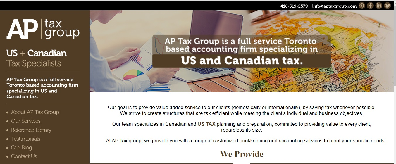 AP Tax Group - - optimized by seo expert