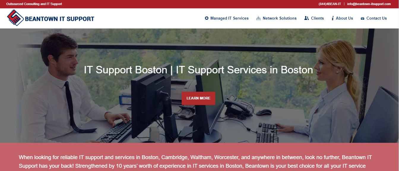 beantown it support - - optimized by seo expert