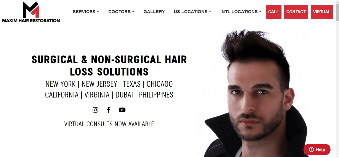 maxim hair restoration - - optimized by seo expert